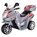 3 Wheel Kids Ride On Motorcycle 6V Battery Powered Electric Toy Power Bicyle New