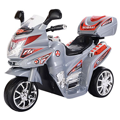 3 Wheel Kids Ride On Motorcycle 6V Battery Powered Electric Toy Power Bicyle New by Generic