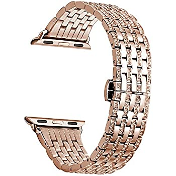 Amazon.com: Kartice for Apple Watch Band, 42mm Alloy