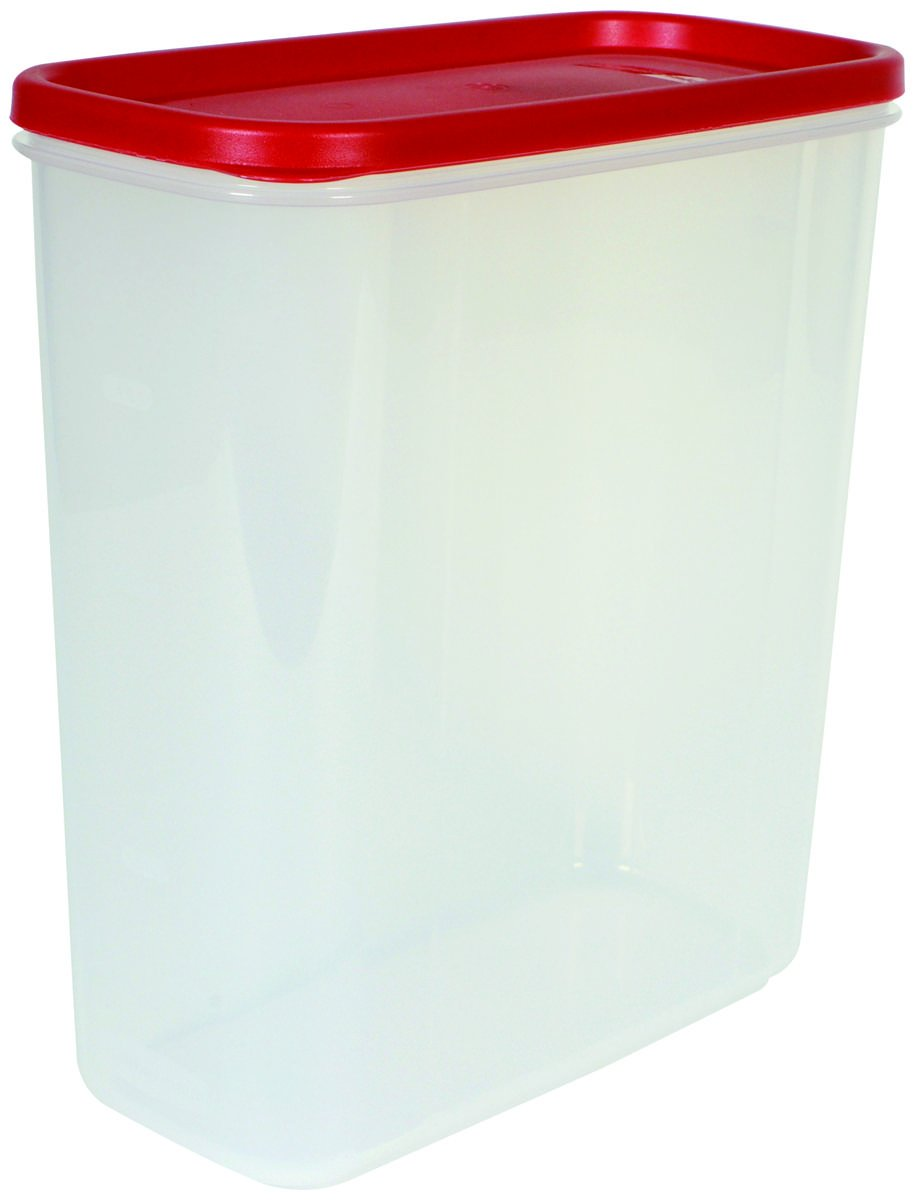 Rubbermaid 071691428855 21-Cup Dry Food Container-Pack of 4, 4, Red