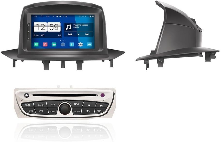 znystar 4.4.4 Android para Renault Megane III DVD Radio GPS con radio + Bluetooth + SD USB + táctil Sceen + WiFi + DVD + 1024 * 600 pantalla HD: Amazon.es: Electrónica