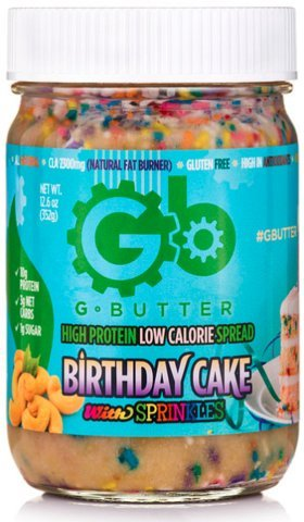 Amazoncom Gbutter Nut Butter Low Calorie High Protein Spread