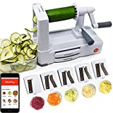 Spiralizer 5-Blade - Best in Class Vegetable Slicer Review and Comparison