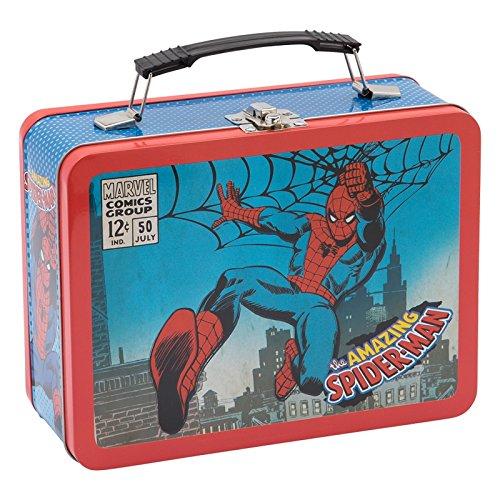 Marvel Spider-man Large Tin Tote
