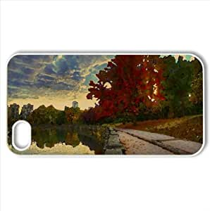 Colors of Autumn Watercolor style Cover iPhone 4 and 4S Case (Autumn Watercolor style Cover iPhone 4 and 4S Case)