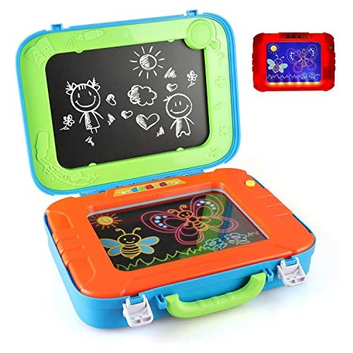 chollos oferta descuentos barato BeebeeRun Dibujo Pizarra 2 en 1 Pizarras mágicas para niños Juegos Juguetes Educativo para Niños niñas 3 4 5 6 años