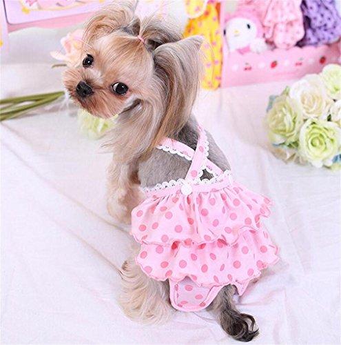PetsLove Pet Sanitary Pantie Pant Doggie Diaper Dog Under...