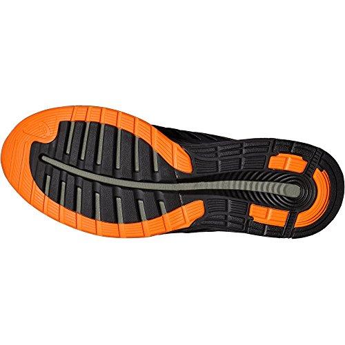 Asics Fuzex, Zapatillas de Running para Hombre Black/Orange - 10 UK