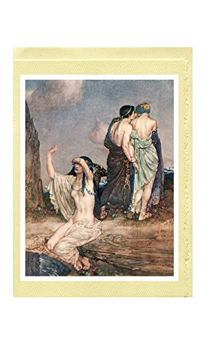 "William Russell Flint Greeting Cards (20 Designs from ""Theocritus Bion and Moschus"" [1922])"