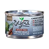 Purina Beyond Grain Free Arctic Char & Spinach Recipe Pate Adult Wet Cat Food, 3 oz, Can