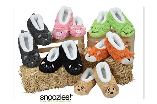 femme Super Snoozies Neuf MOUSE Chaussons pour Doux GREY Design Animal 5HaHOqf
