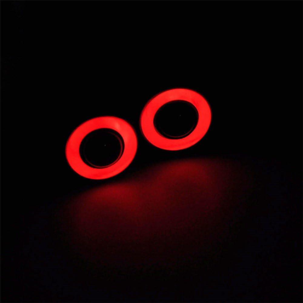 Rouge + Jaune AXspeed 13mm 2Leds Yeux dange /& Yeux d/émoniaques LED Phare Arri/ère Lumi/ère pour 1//10 RC Car