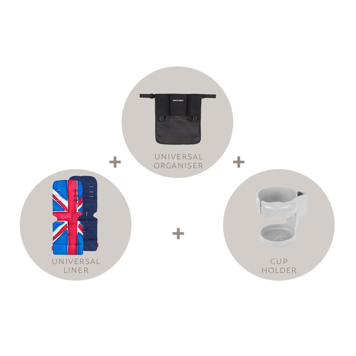 Maclaren Style Starter Kit - Set de complementos AR1R940012