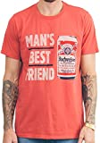 Best Junk Food Friend Shirts With Foods - Mens Junk Food Budweiser Man's Best Friend Tee Review