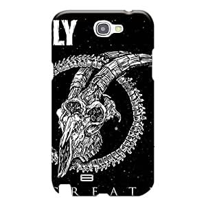Perfect Hard Phone Case For Samsung Galaxy Note 2 (YGf11882aAhe) Customized Lifelike Burden Of Grief Band Pattern