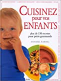 Cuisinez pour vos enfants