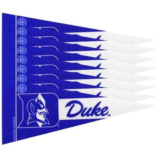 Duke Blue Devils 8 Piece Mini Pennant Set