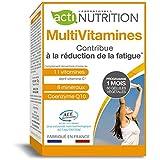 MultiVitamines | 11 Vitamines | 7 Minéraux | Haute Absorption A.C.E. BioTechnology | Coenzyme Q10 | Fabriqué en France | Réduction de la fatigue