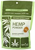 Navitas Naturals Organic Raw Hemp Protein Powder, 12 Ounce Pouches, Health Care Stuffs
