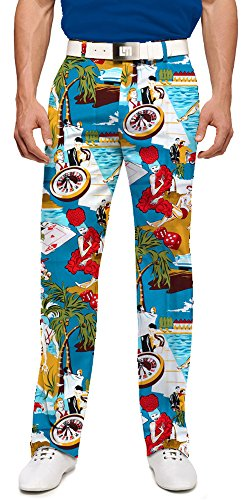 Loudmouth Golf Vegas Men's Pant - 40x34