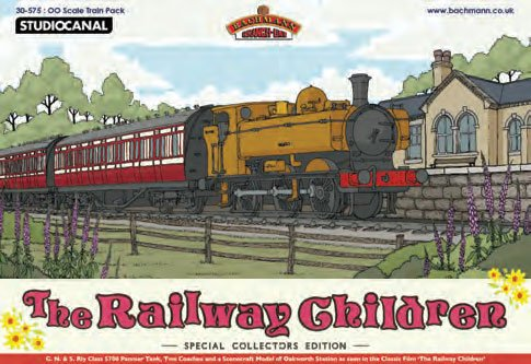 Bachmann Europe 30-575 the Railway Children Pack OO Scale Model Train Set