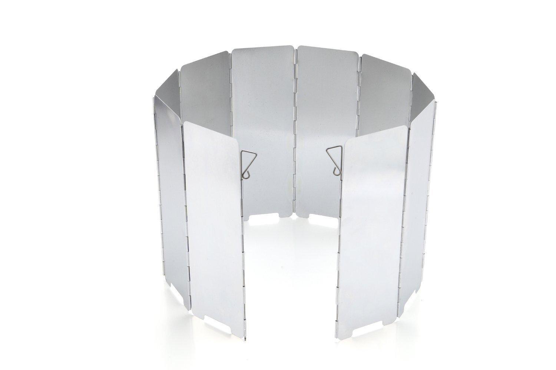 JAMSWALL Parabrisas Aluminio Plegable aleación de Aluminio con 10 Piezas para Comping Stove Protector product image