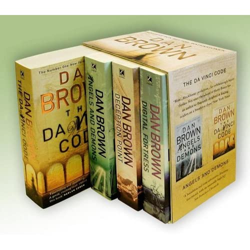 """Dan Brown Boxed Set: """"Digital Fortress"""", """"Deception Point"""", """"Angels and Demons"""", """"The Da Vinci Code""""  [Limited Edition]"""