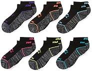 Starter girls 6-Pack Athletic Low-Cut Ankle Socks Socks