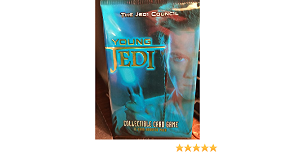 Star Wars Young Jedi Booster Pack x 2 NEW Trading Card Game The Council