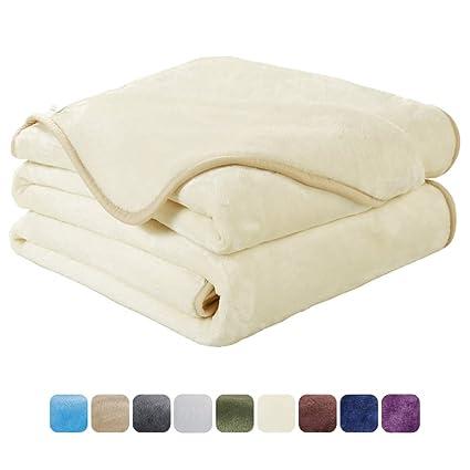 Amazoncom Easeland Soft Queen Size Blanket All Season Winter Warm