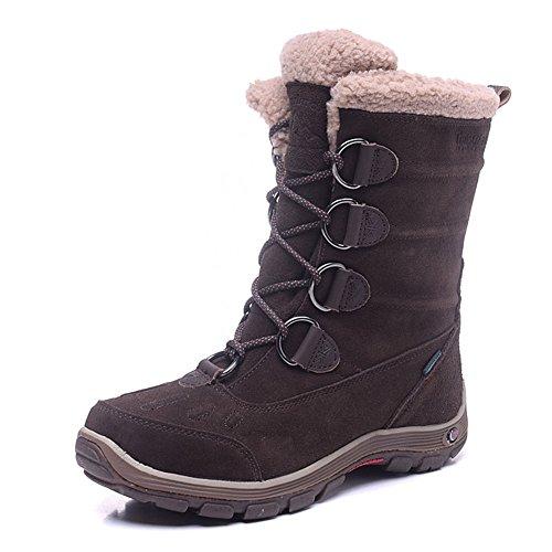 Brown Brown Color Women's Snow Waterproof Boot wPnfqX