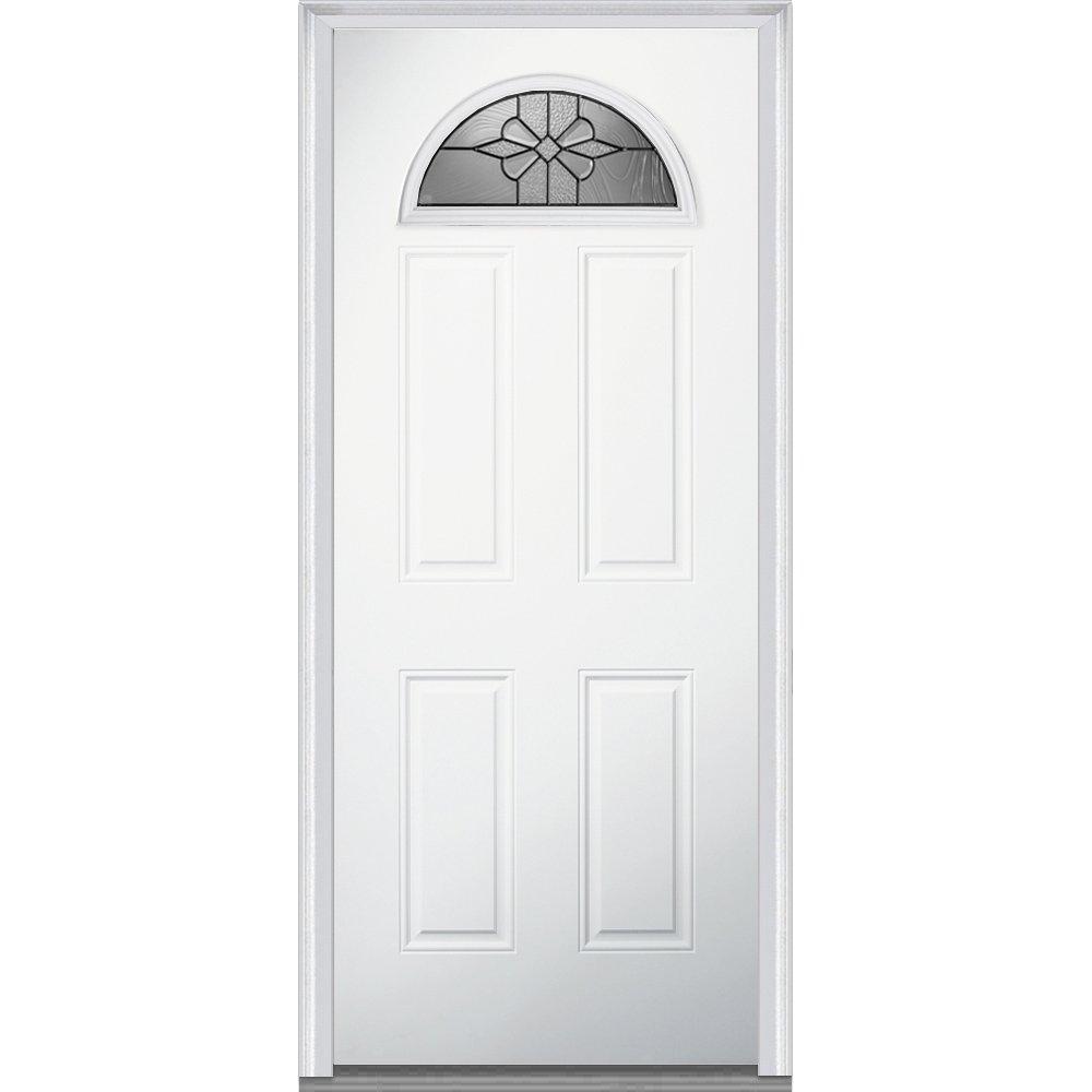 National Door Company Za21365l Fiberglass Smooth Prehung Left Hand