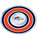 Denver Broncos 14 inch Melamine Chip and Dip