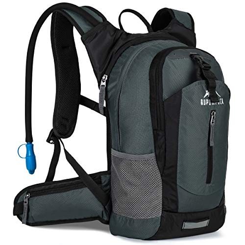 RUPUMPACK Insulated Hydration Backpack Pack with 2.5L BPA Free Bladder, Lightweight Daypack Water Backpack for Hiking…