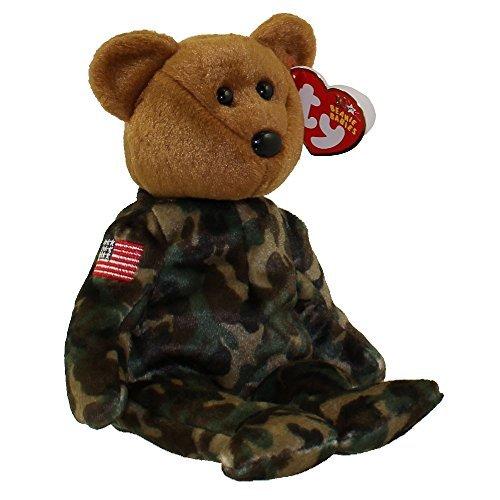 Ty Beanie Babies Hero - USA Bear (Flag