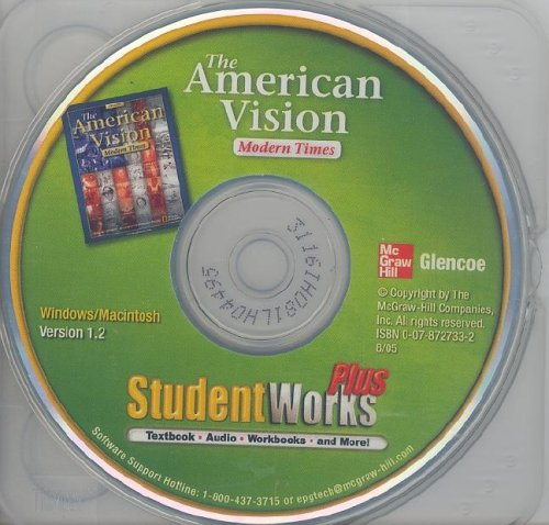 The American Vision: Modern Times, StudentWorks Plus (THE AMERICAN VISION: MOD TIMES)