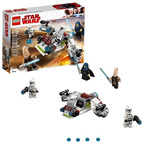 LEGO Star Wars Jedi & Clone Troopers Battle Pack 75206 Building Kit (102 Piece)]()