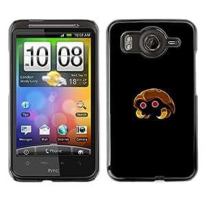 EJOY---Cubierta de la caja de protección la piel dura para el / HTC G10 / --Kabuto P0kemon