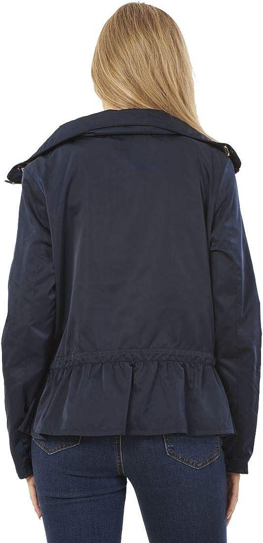 exFamousStore Ladies Stylish Stormwear Drawstring Waist Waterproof Coat Womens Jacket