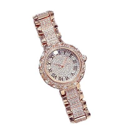 Reloj De Cuarzo De Las Mujeres De Las Señoras De La Manera Multifuncional Luminoso Reloj De