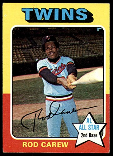 1975 Topps # 600 Rod Carew Minnesota Twins (Baseball Card) Dean's Cards 5 - EX Twins Rod Carew Minnesota Twins