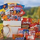 Snackstravaganza Deluxe Snack Gift Basket | College Student Gift Idea