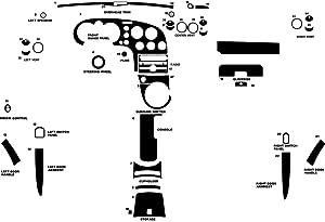 Rdash Dash Kit Decal Trim for Pontiac Solstice 2006-2009 - Camouflage (Red)