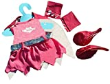 Pink Bat Girl Outfit Halloween / Teddy Bear clothes to fit Build A Bear & teddies 15-16 inches (40cm)