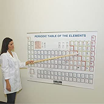Amazon periodic table of the elements chart aluminum binding periodic table of the elements chart aluminum binding urtaz Choice Image