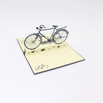 BXM Bicycle Design 3D Pop Up Tarjeta de felicitación Tarjeta de ...