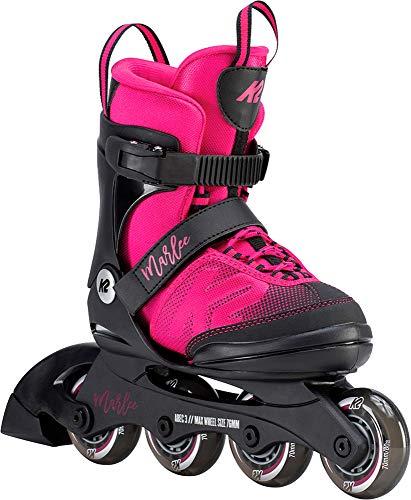K2 Skate Youth Marlee Inline Skates, Magenta (Best Professional Inline Skates)