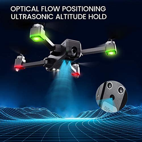 Potensic D88 Foldable Drone, 5G WiFi FPV Drone with 4K Camera, RC Quadcopter for Adults and Experts, GPS Return Home, Ultrasonic Altitude Setting, Optical Flow Positioning, 2 Battery 40min-Upgrade 51TTKru71NL