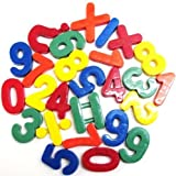 26 Piece Maths Numbers Fridge Magnets - Multicolured