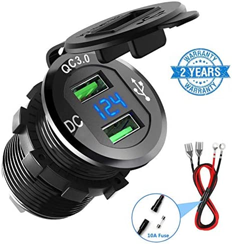Charger CHGeek Waterproof Voltmeter Motorcycle product image